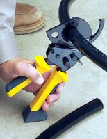 Cable Cutter features molded high-leverage boot.
