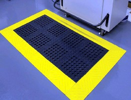 Ergonomic Floor Matting suits industrial applications.