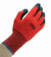 Work Glove offers form fitting, seamless knit design.