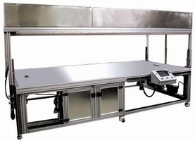 Vacuum Table is designed to reduce cycle times.