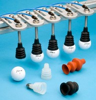 Vacuum Suction Cups hold round objects.