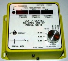 Seismic Switch shuts down sensitive equipment.