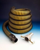Liquid Suction and Pumping Hose features leak-proof cuffs.