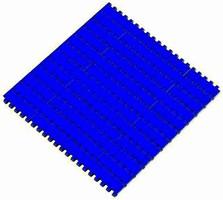Plastic Modular Belt is designed for corrugated industry.