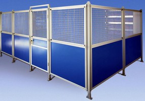 Modular Systems suit any in-plant guarding application.