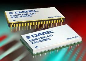 A/D Converter delivers 16-Bit performance at 10 MHz.