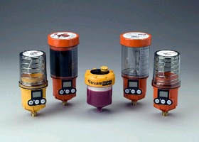 Grease Dispensers feed up to 8 lubrication points.