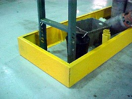 Conveyor Guards minimize warehouse machinery accidents.