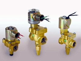 Large Orifice Solenoid Valves Now with Manual Override