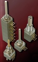 Rotary Panel Potentiometer has 1-million rotation lifecycle.