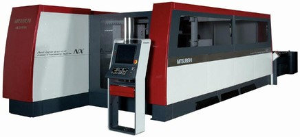 Laser and Waterjet Cutters feature CNC control.