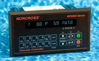 Viscosity and pH Controller features RS485 communications.