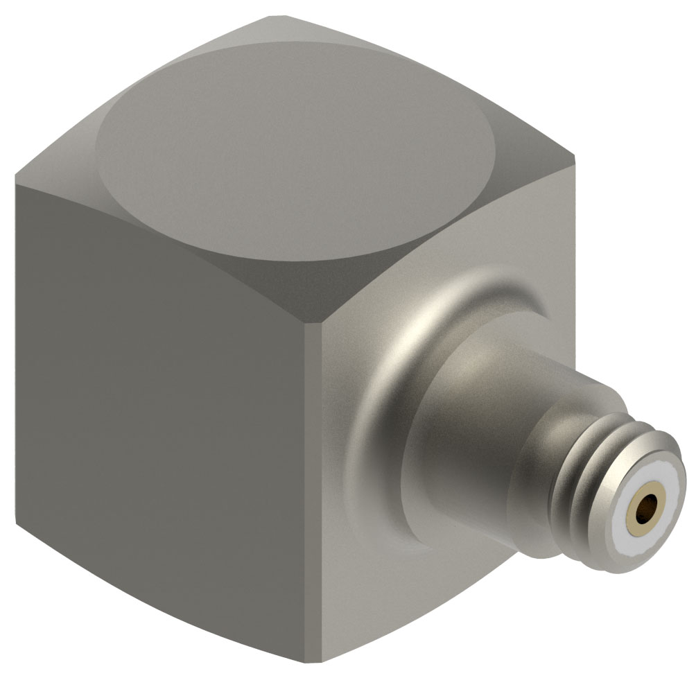 Accelerometer features sensitivity of up to 500 mV/g.