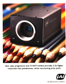 Color CCD Camera provides high resolution.