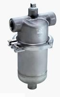 Steel Separator/Filter creates dust/dirt free gas.