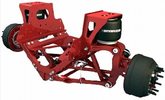 Front Suspension suits recreational vehicles and motorhomes.