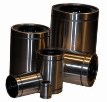 Linear Ball Bearings are available in European sizes.