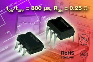 Solid State Relay features 800 µs turn-on/turn-off times.