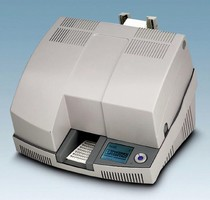 High-Speed Printer offers UV curing technology.
