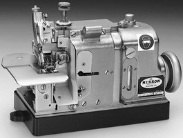 Butt-Seaming Machine features nickel-plated design.