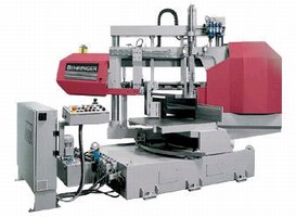 Horizontal Miter Bandsaw targets structural steel industry.