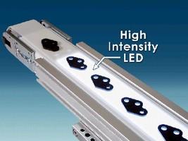 Backlit Conveyors utilize LEDs to illuminate parts.