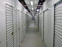Self-Storage Roll-Up Door installs in less than 5 minutes.