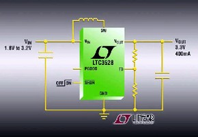 DC/DC Converters include output disconnect and soft-start.