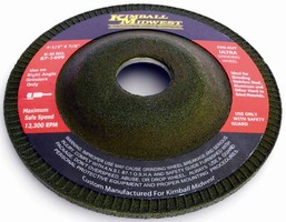 Grinding Wheels have low iron content to optimize results.