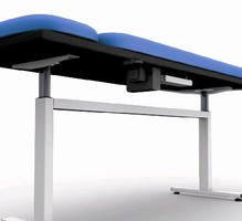 Patient Table Lift System features stable, ergonomic design.