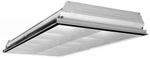 Luminaire is designed to promote energy efficiency.