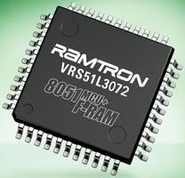 Microcontroller uses 2 KB FRAM for nonvolatile data storage.