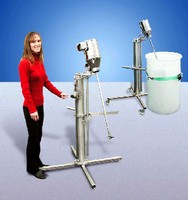 Portable Mixer Stands eliminate need for multiple mixers.