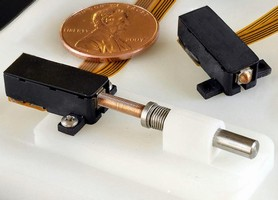 Actuator minimizes power/size needs for electronic locks.