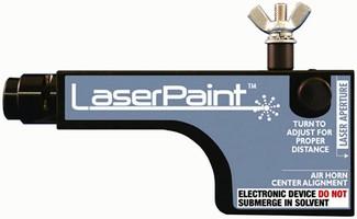 Spray Gun Attachment targets difficult-to-spray parts.