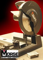 Metal Cutting Saw features dry cutting technology,.