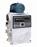 High Vacuum Pump has displacement rate of 180 cfm.