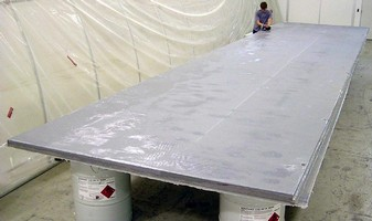 Custom Structural Panels are made from compsite material.
