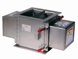 Magnetic Separators remove contamination from sticky products.