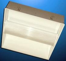 Recessed Dual-Lamp Luminaries optimize light distribution.