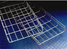 Wire Cable Trays provide access and cleanliness.
