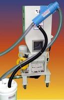 Separator clears 80-85% of granulator dust/fines/powder.