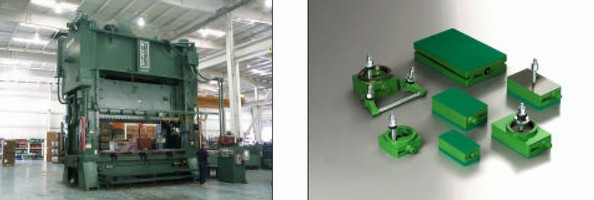 Grant Industries Gets a Used Press and Refurbished AirLoc Wedgmounts