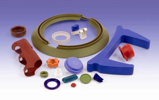 Color Sells - Rubber Industries Provides Custom Rubber Parts Molded to Color and Design Specification