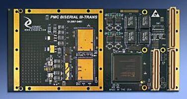 PMC I/O Device has transformer-coupled design.
