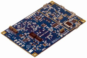 Dual-Frequency GPS Receiver delivers centimeter accuracy.