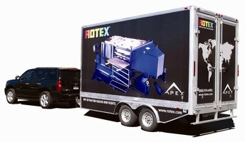 Rotex, Inc. Takes APEX(TM) Screener on the Road