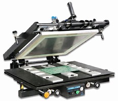 Stencil Printers enable double-sided board processing.
