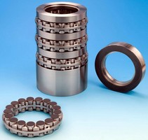 Load Equalizing Thrust Bearing has stackable design.
