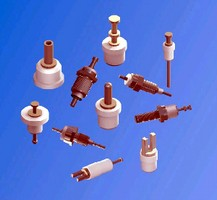 PTFE Terminals are insulated for high temperature.
